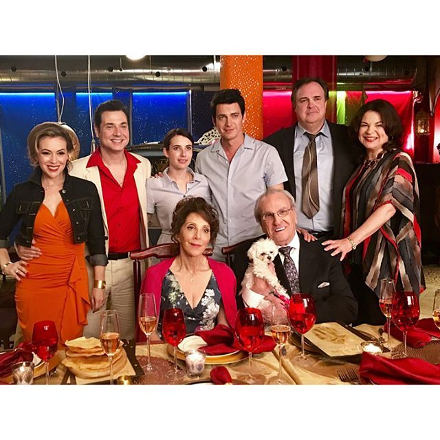That's a wrap on #littleitaly. See these people? I love them. Thank you, Adam Ferrara, Emma Roberts, Hayden Christensen,  Gary Basaraba, Linda Cash, Danny Aiello, Andrea Martin