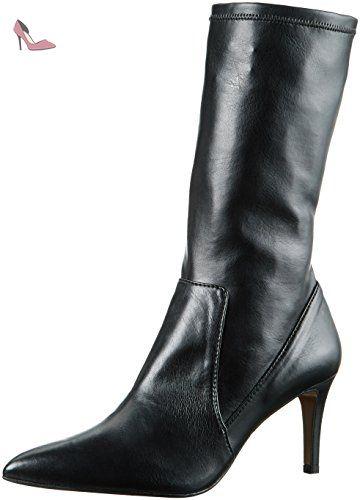 P-3085, Bottines Femme, Noir (Black Black), 38 EUPaco Gil