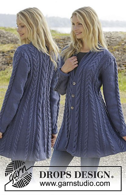 Ravelry: 158-1 Morning Glory pattern by DROPS design