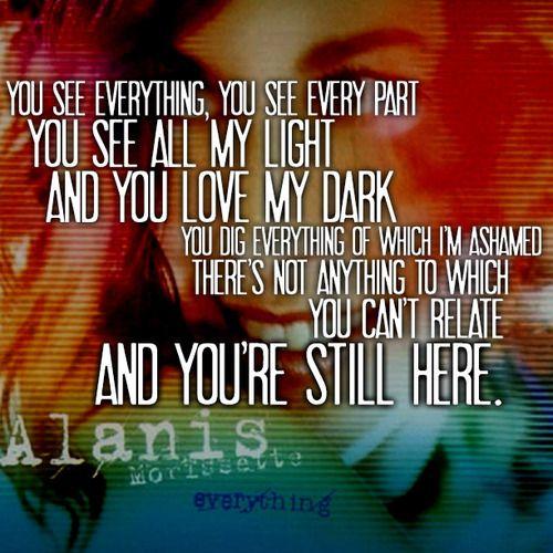 Dear matthew lyrics alanis morissette you learn