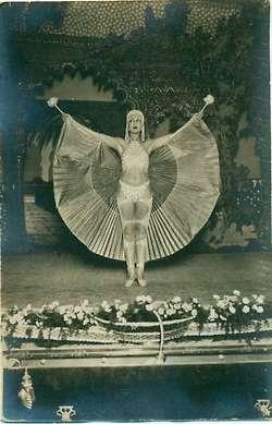 Stand proud and beautiful!: Lewd Postcards, Dancers, Dancer Postcard, Vintage, Postcard C 1922, Paris 1920S, Franch Dancer