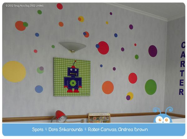 Spots and Dots Stikarounds - A modern decorating classic!