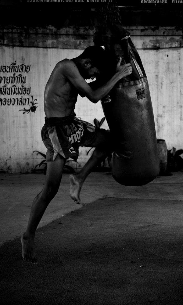 ♂ world Martial Arts Muay Thai black & white boxing