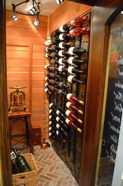 I love this wine rack!!  http://www.houzz.com/ideabooks/2833607/list/My-Houzz--Renovated-Dude-Ranch-in-Wyoming#