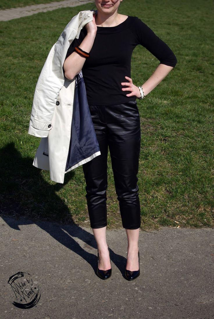 Kochana... Audrey, czyli uszyłam spodnie. | madebywera