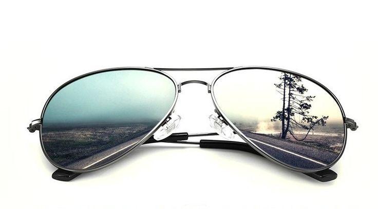 Sunglasses : Veithdia Classic Unisex Multicolor Reflective Aviator