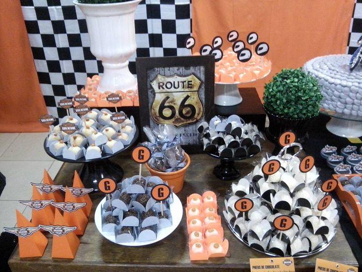 Balão de Papel: Festa Harley Davidson