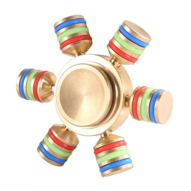New Hand Spinner Ceramic Ball Reduce Stress Desk Focus Fidget spinner
