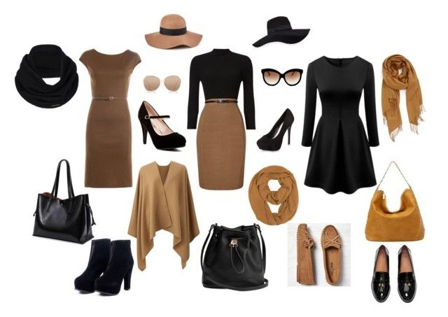 Herbstlich ins Büro by josiejolie-1 on Polyvore featuring polyvore, fashion, style, WithChic, Phase Eight, MaxMara, Minnetonka, New Look, Handbag Republic, Nordstrom, Uniqlo, prAna, Reiss, San Diego Hat Co., Italia Independent, Victoria Beckham and clothing