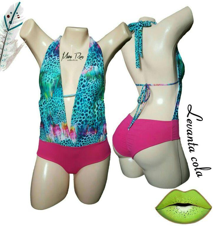 Swimwear, swimsuit pink