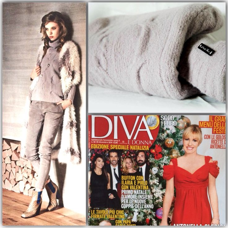 On Diva e Donna our cashmere and wool pull  www.brebisnoir.com