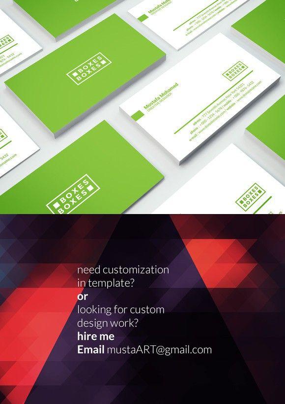 Premium Business Card Templates 02