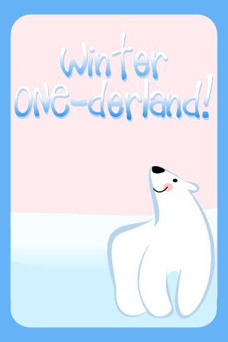 free invitation birthday party diy craft tutorial polar bear