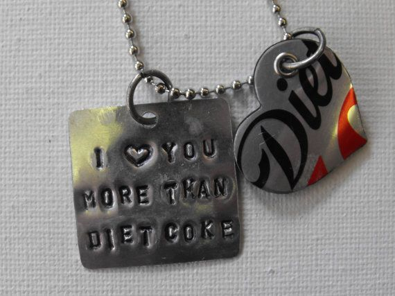Recycled Soda Can Hand Stamped Metal by ThePaperPeddler on Etsy, $10.00