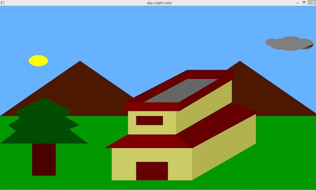 Download the Free source code for this Day Night Color OpenGL Program and many of the other source codes.