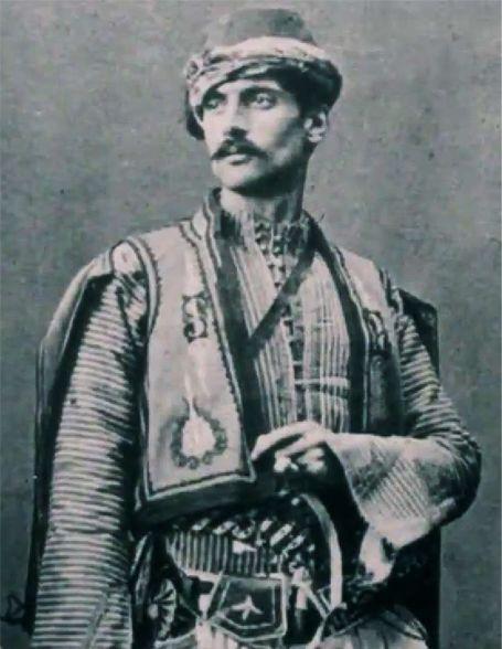 Armenian man in traditional costume