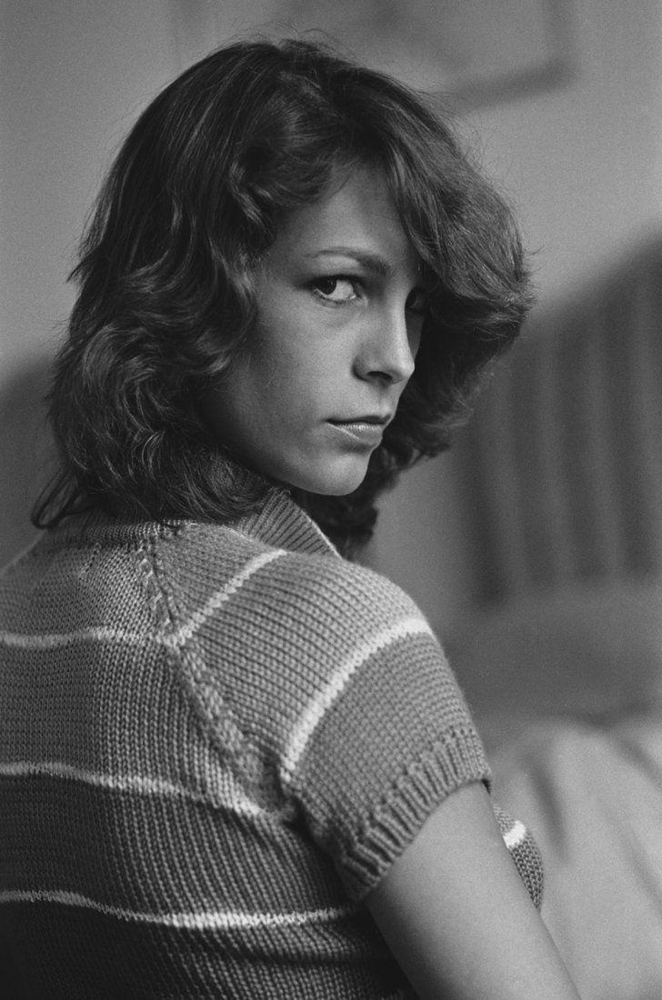 Pin for Later: Retour Sur les Meilleures Photos du Festival de Cannes Depuis Sa Création  Jamie Lee Curtis en 1980.