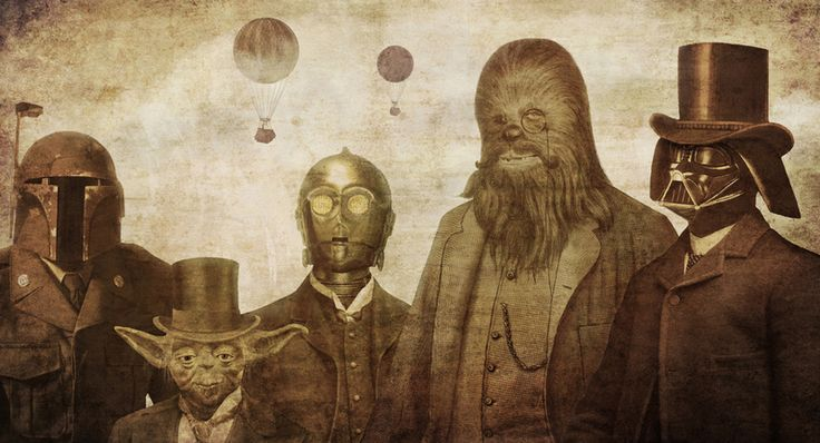 Turn of the century Star Wars art.