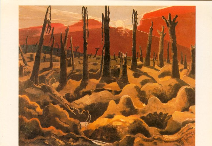Paul Nash 'We are Making a New World' 1918