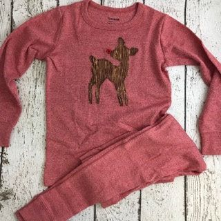 New lil threadz design posted! Custom Christmas Pajamas Holiday Pajamas Christmas pj for family plaid reindeer pajama  baby toddler children's adult pajamas by lilthreadzclothing