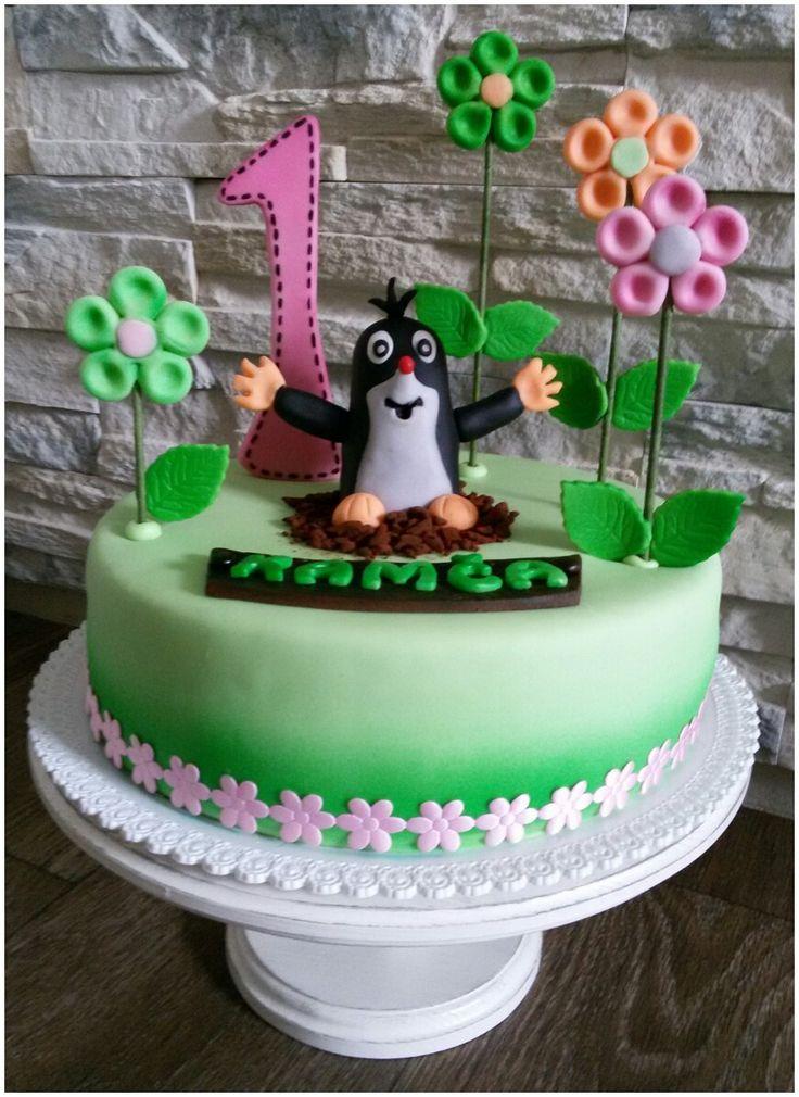 Krteček cake