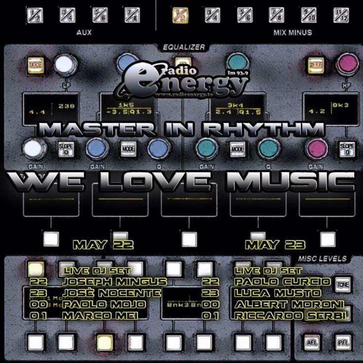 Paolo Mojo • Marco Mei • Luca Musto • Master in Rhythm !!