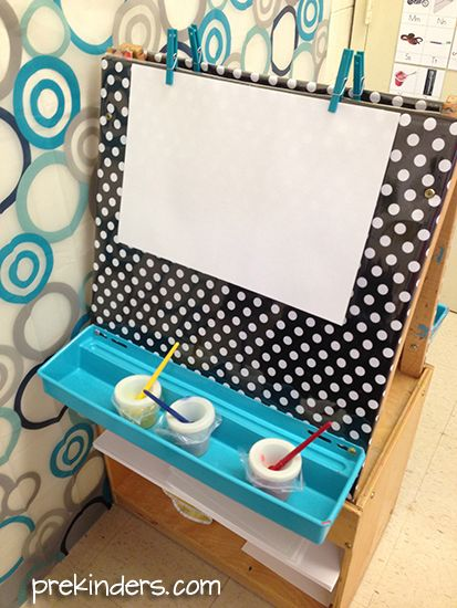 Easy to Clean Art Easel Cover - PreKinders