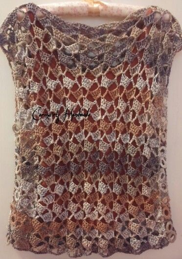 Crochet degrade top.