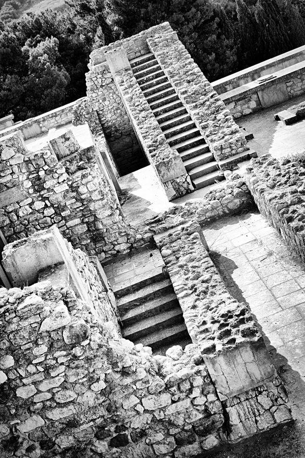 King Minos' palace, Knossos Crete