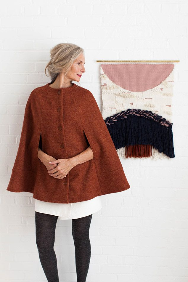 Share with: Make your favorite new outerwear piece in just three hours. Camden is a fully lined cape with stylish seaming. Its paneled design makes it a cinch to cut and fit. Arm slits allow freedom of movement, making Camden just as practical as it is chic. Sew Camden in a warm and cozy wool, …