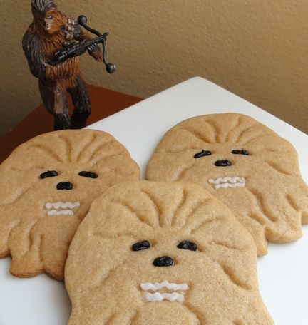 Brown sugar Wookiee cookies. #StarWars