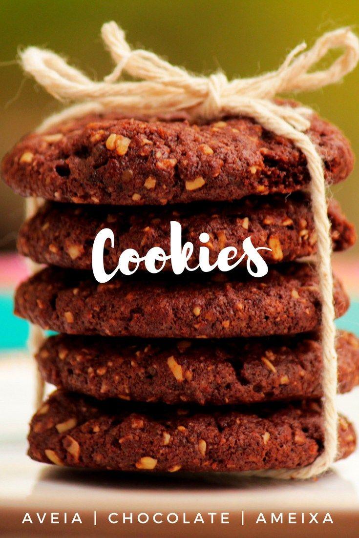 Cookies de ameixa e aveia    Aveia, chocolate e ameixa, esses cookies caseiros são saudáveis, rápidos e deliciosos.    Confira a receita e faça em casa.