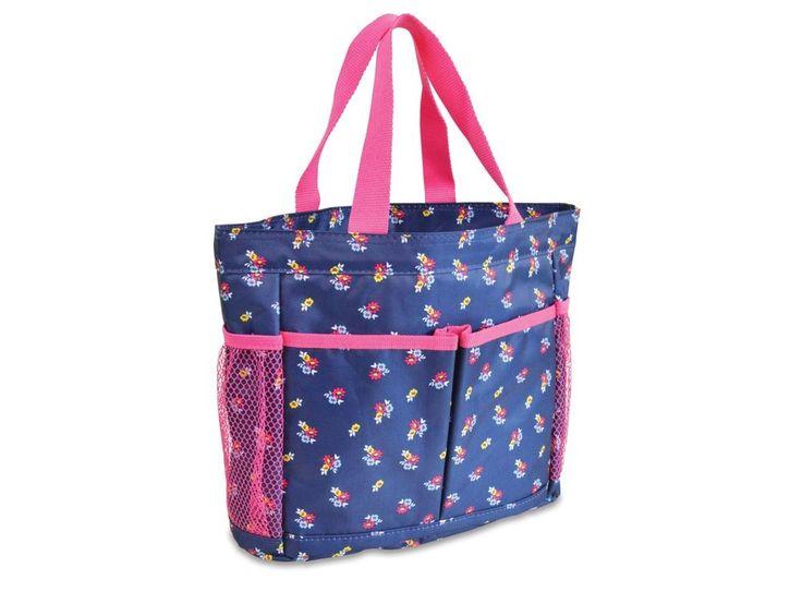 Floral Ditzy Shower Caddy Dorm Organization BagTCS6923 #AllForColor