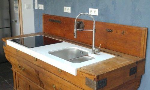 Transformation d'un meuble de cuisine