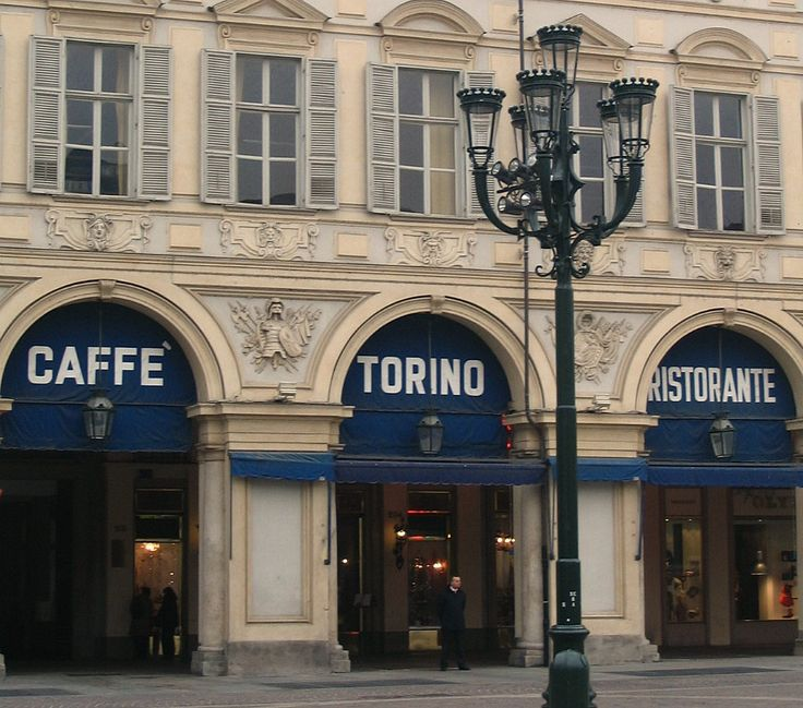 Historic Turin Coffee Bar Coffee in Turin © Copyright Delicious Italy