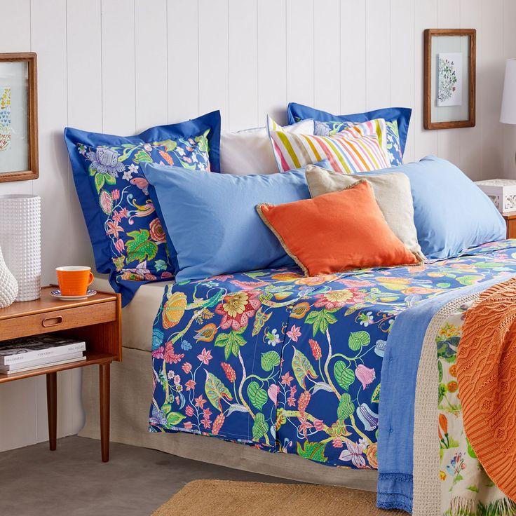 Las 25 mejores ideas sobre cama azul en pinterest cama - Textura funda nordica ...