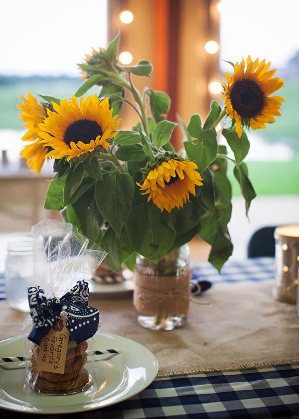 Best sunflower wedding ideas images on pinterest