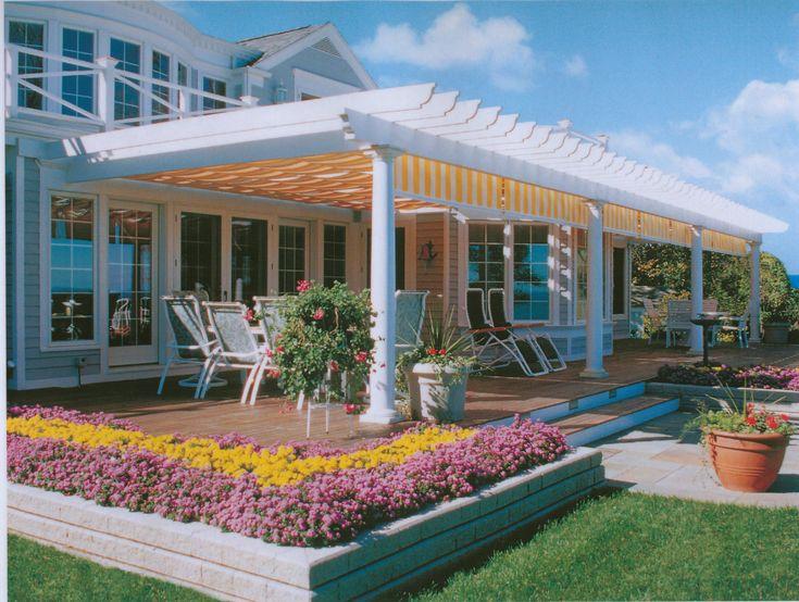 137 best backyard patio images on pinterest | backyard patio ... - Pergola Designs For Patios