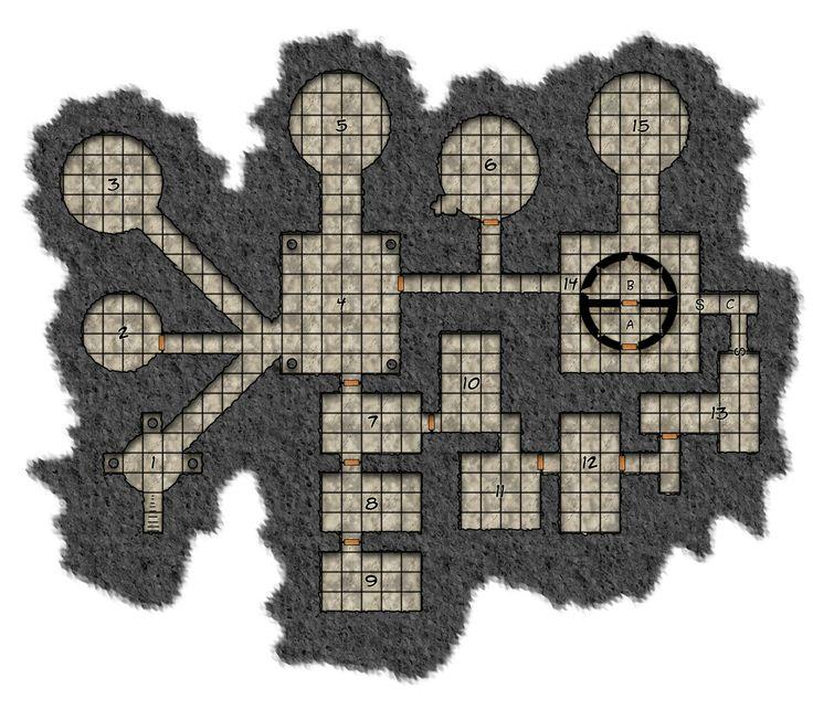 dungeons and dragons dungeon map ile ilgili görsel sonucu