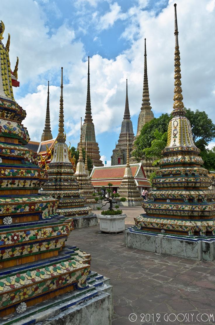 Tailand, Bangkok, Wat Pho, http://www.goosly.com/2012/02/3.html