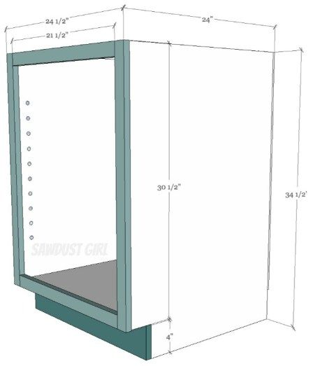 How to build a cabinet with pocket hole screws - Sawdust ...