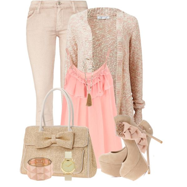 Casual Pastel by elenh2005 on Polyvore