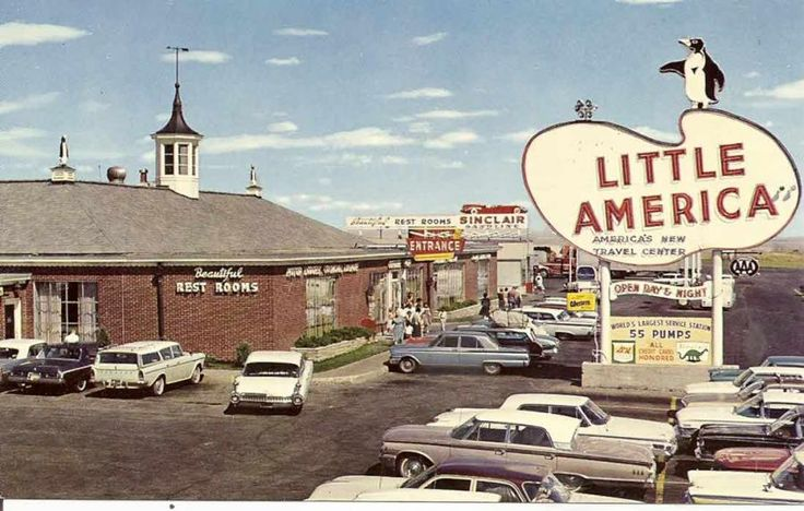 1960'S Gas Stations Photo Albums > Vintage Post Cards