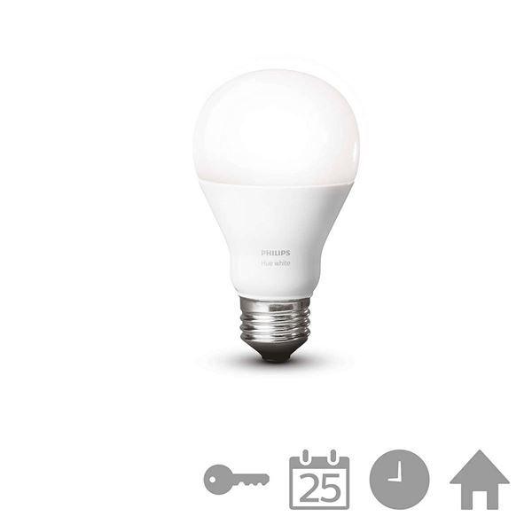 Bec LED Philips Hue, 9,5W E27 A60, White http://www.etbm.ro/tag/148/becuri-led-e27