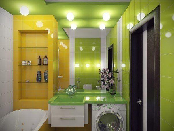 Дизайн ванной комнаты с акцентами в зеленых тонах  Зеленая палитра ассоциируется у человека с рождением ранней #весны, пробуждением природы и молодой сочной зеленью, поэтому использование оттенков этого спектра в декорах #интерьеров всегда кстати. Зеленая ванная выглядит природно и естественно. Здесь царствуют удивительная чистота и необыкновенная свежесть, а все благодаря гармоничному сочетанию оттенков зеленой палитры с основными элементами обстановки. http://santehnika-tut.ru/catalog/