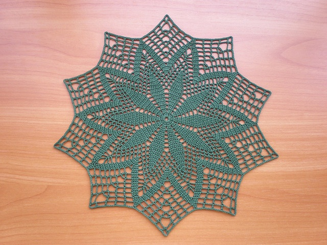 crochet Doilies - One Colour 2 - a gallery on Flickr