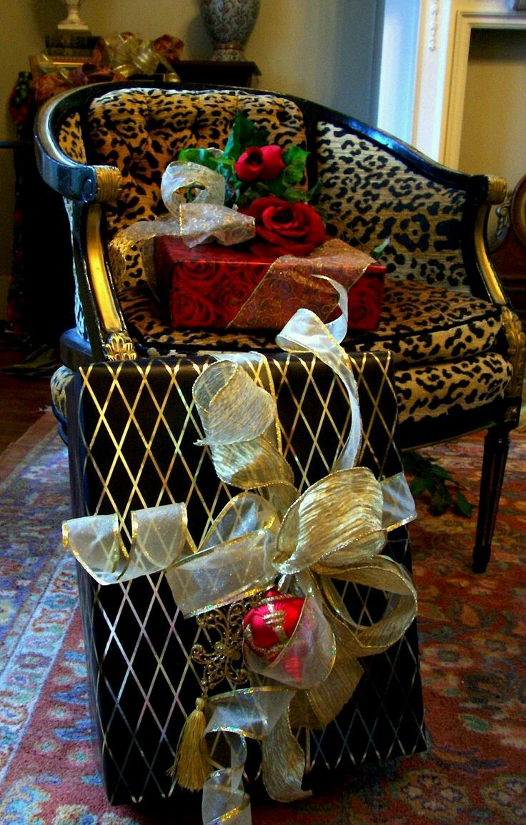Eye For Design: Beautifully Wrapped Christmas Packages From Lisa Farmer  Designs Concierge Service