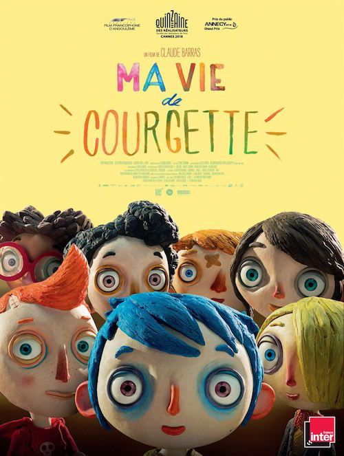Ma Vie de Courgette (2016) Director: Claude Barras Writers: Gilles Paris (novel), Céline Sciamma (screenplay) Stars: Gaspard Schlatter, Sixtine Murat, Paulin Jaccoud