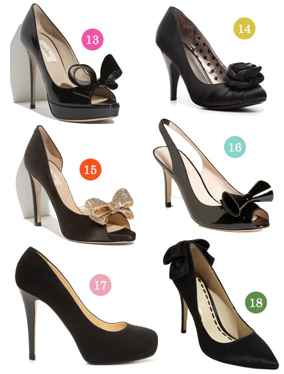 18 black bridesmaid shoes