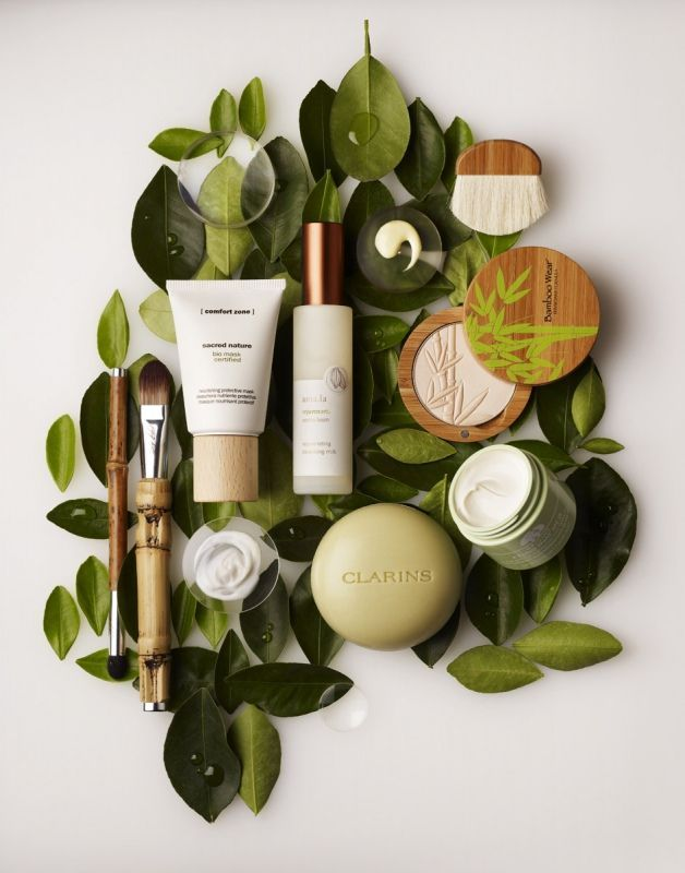 The Leaves Compliment That Colouring And Packaging Of Each Product It Demonstrates Organic Products In A Simple Kind